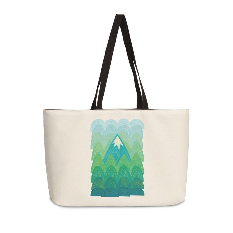 Towering Mountain Accessories Weekender Bag Bag by Waynem