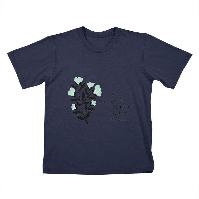 no love, just emo music Kids T-Shirt by WBGU-FM's Shop
