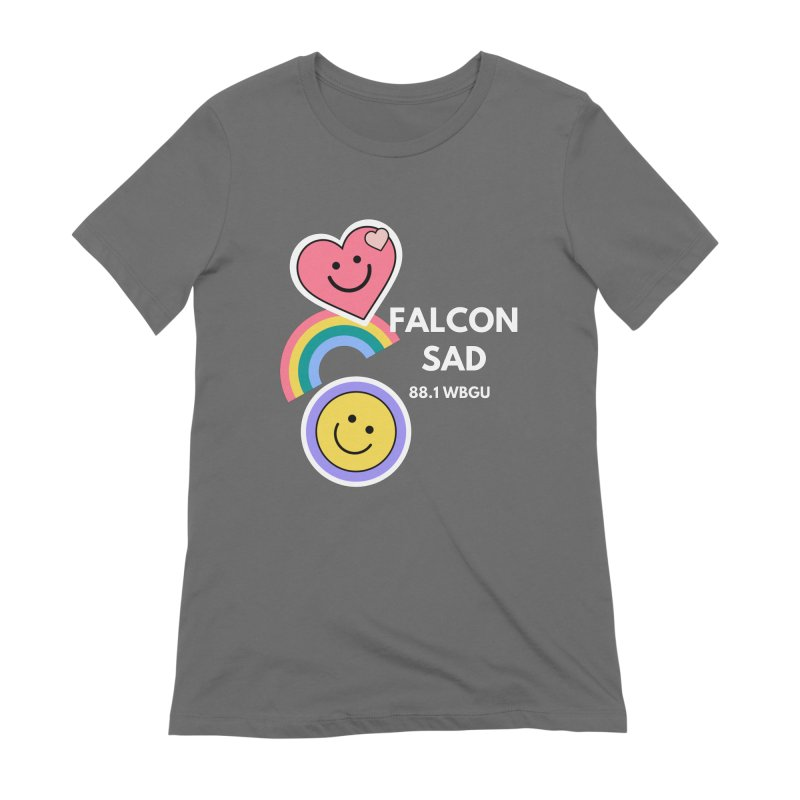 Falcon Sad Stickers Women's T-Shirt by WBGU-FM's Shop