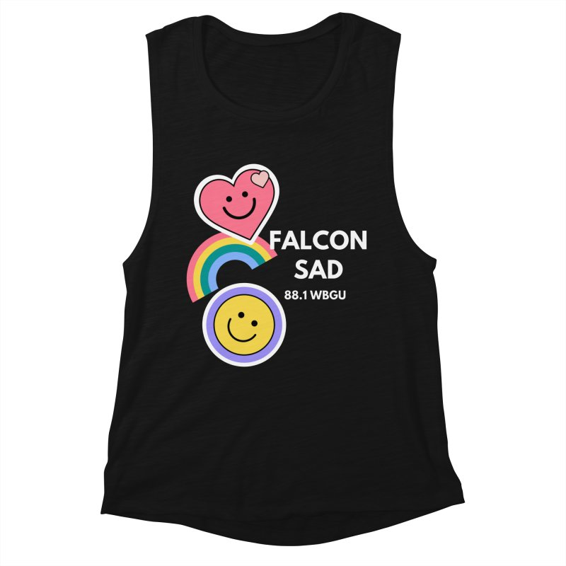 Falcon Sad Stickers Women's Tank by WBGU-FM's Shop