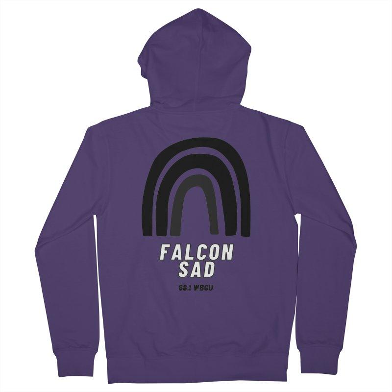 Falcon Sad Rainbow Women's Zip-Up Hoody by WBGU-FM's Shop