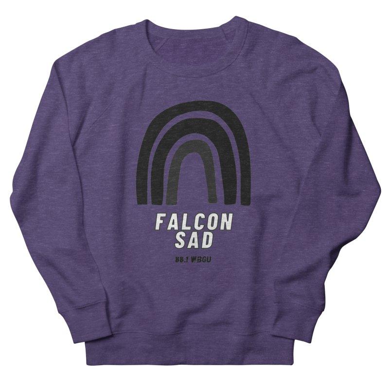 Falcon Sad Rainbow Women's Sweatshirt by WBGU-FM's Shop