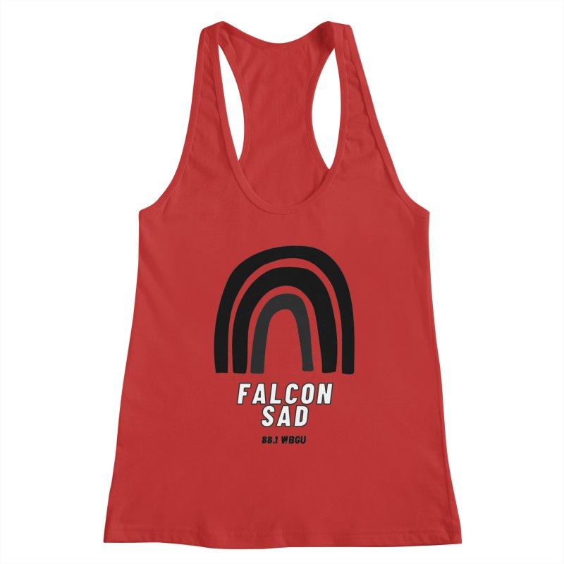 Falcon Sad Rainbow Women's Tank by WBGU-FM's Shop