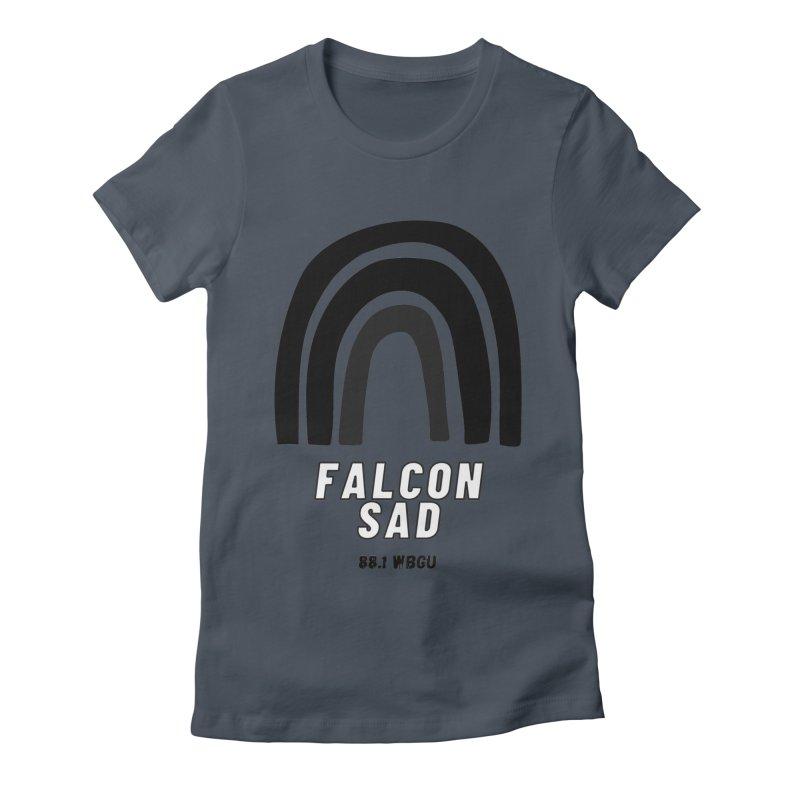 Falcon Sad Rainbow Women's T-Shirt by WBGU-FM's Shop