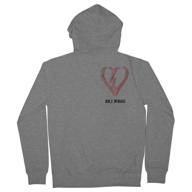 Broken Heart WBGU Women's Zip-Up Hoody by WBGU-FM's Shop