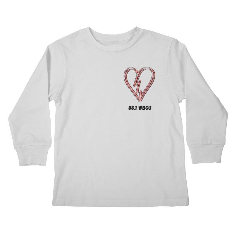 Broken Heart WBGU Kids Longsleeve T-Shirt by WBGU-FM's Shop