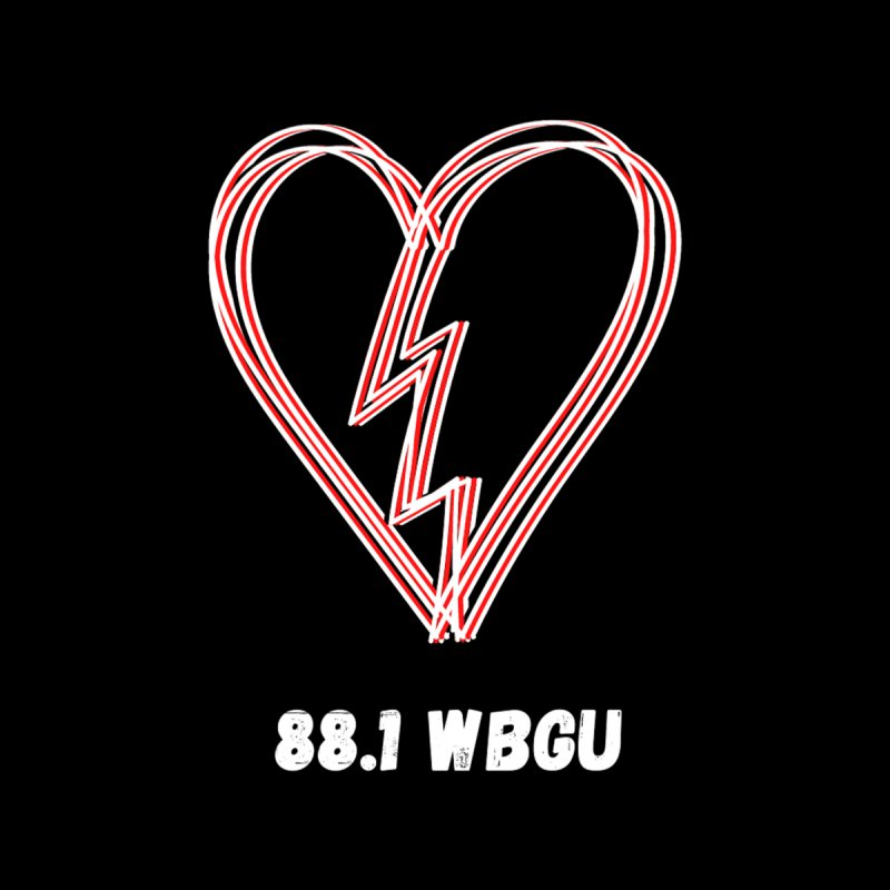 Broken Heart WBGU Women's Sweatshirt by WBGU-FM's Shop