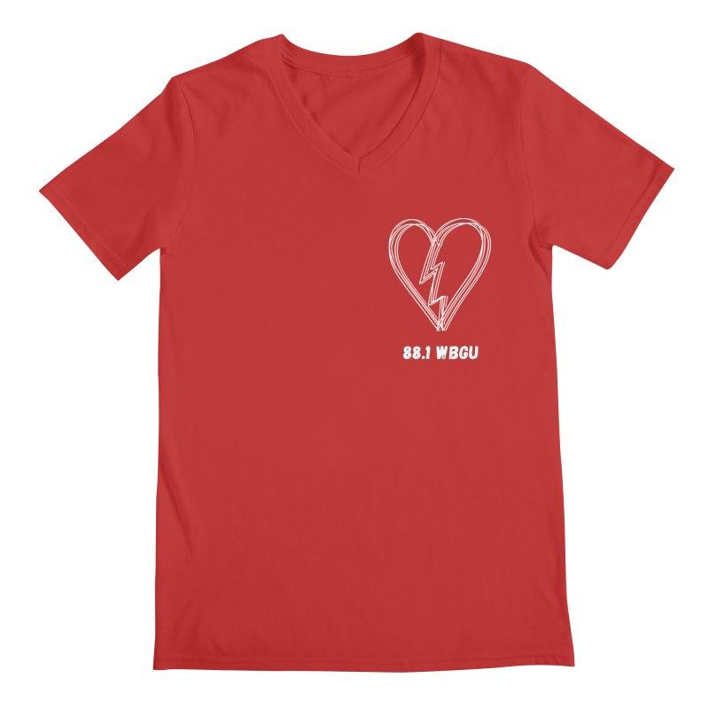 Broken Heart WBGU Men's V-Neck by WBGU-FM's Shop