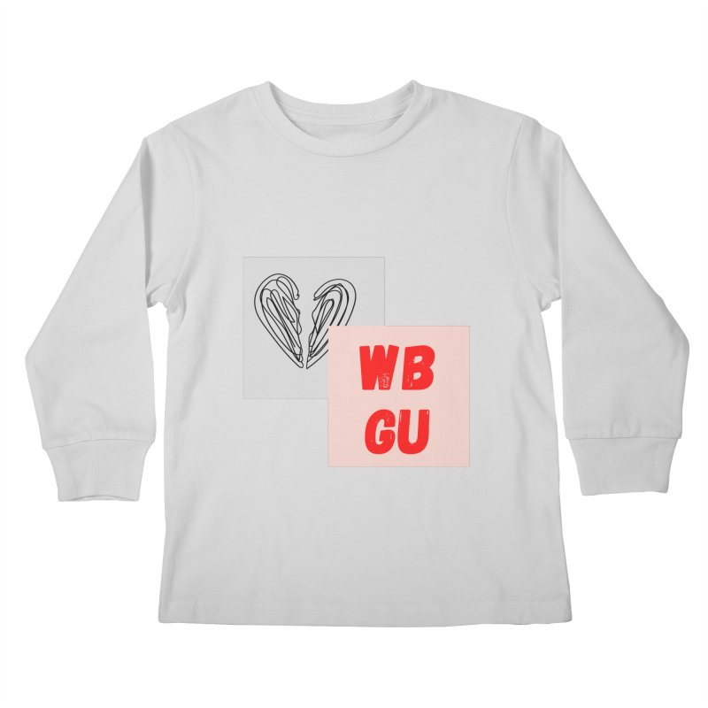 WBGU squares Kids Longsleeve T-Shirt by WBGU-FM's Shop