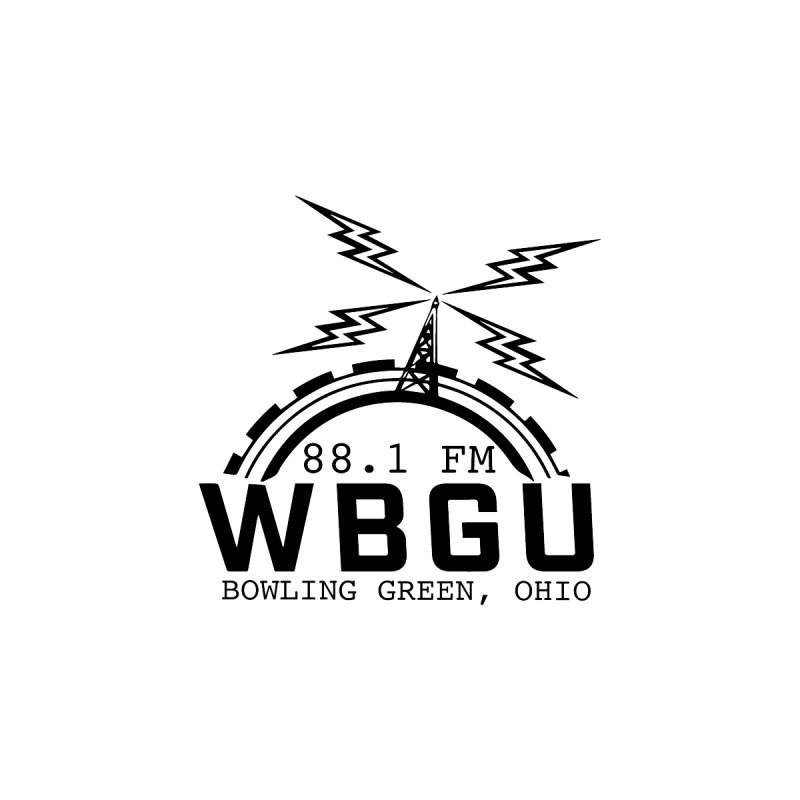 2018 Logo Women's Zip-Up Hoody by WBGU-FM's Shop