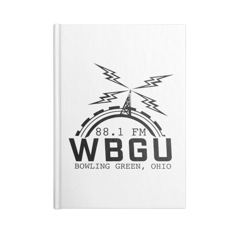 2018 Logo Accessories Lined Journal Notebook by WBGU-FM's Shop