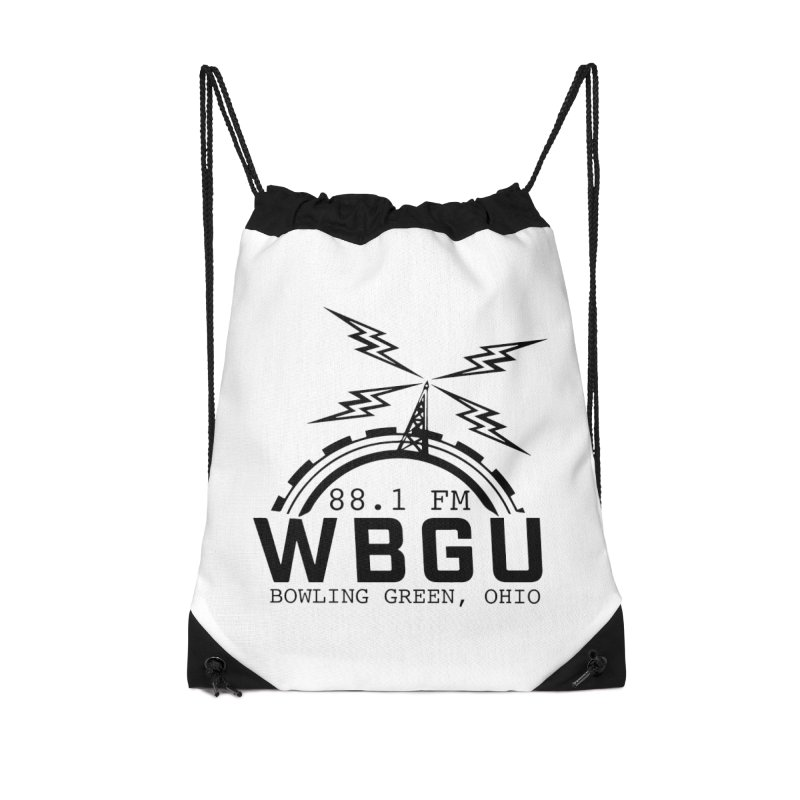 2018 Logo Accessories Drawstring Bag Bag by WBGU-FM's Shop