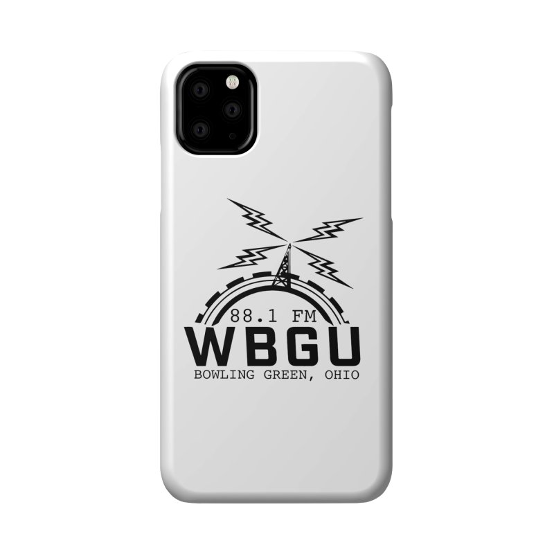 2018 Logo Accessories Phone Case by WBGU-FM's Shop