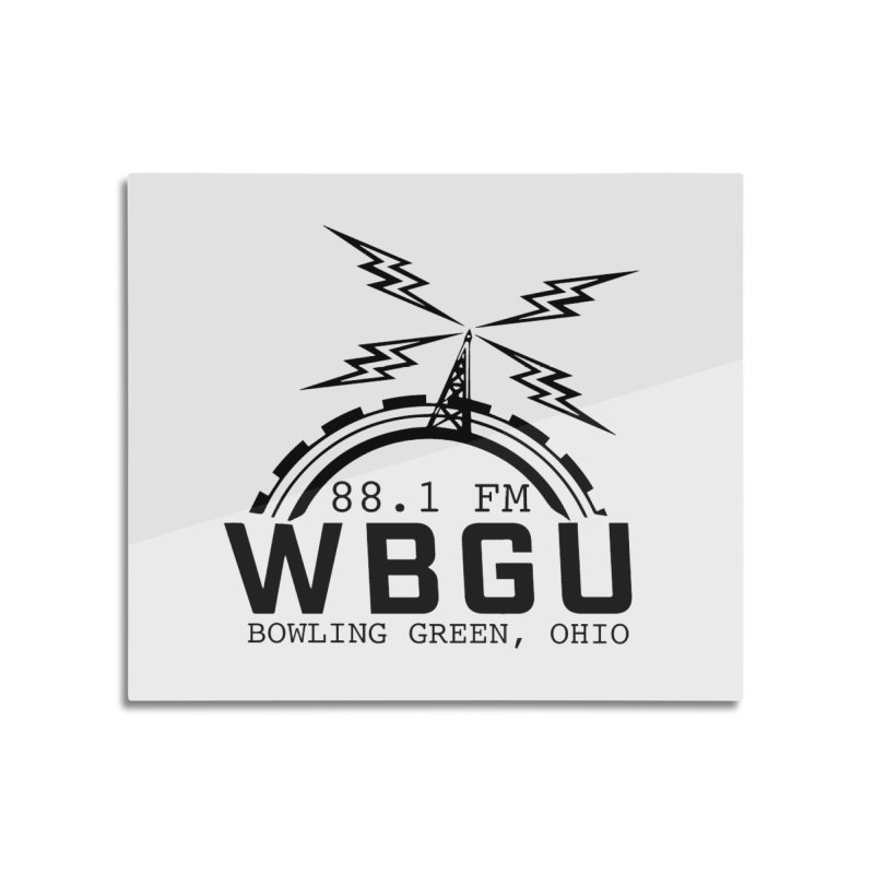 2018 Logo Home Mounted Aluminum Print by WBGU-FM's Shop