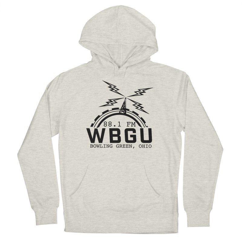 2018 Logo Men's French Terry Pullover Hoody by WBGU-FM's Shop