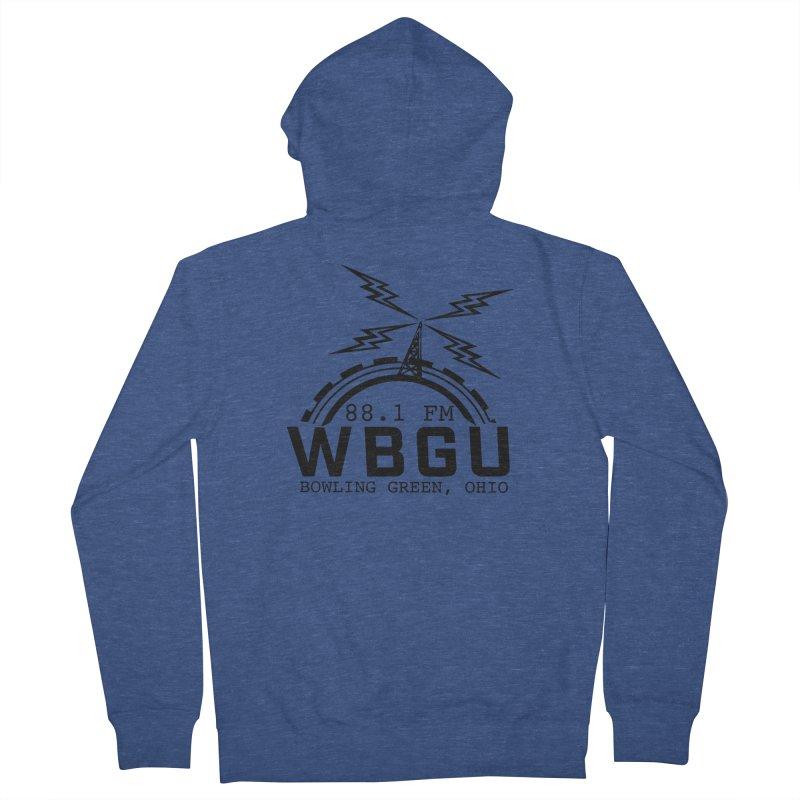 2018 Logo Men's French Terry Zip-Up Hoody by WBGU-FM's Shop