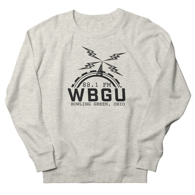 2018 Logo Men's French Terry Sweatshirt by WBGU-FM's Shop