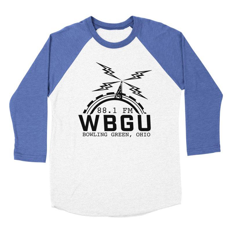 2018 Logo Men's Baseball Triblend Longsleeve T-Shirt by WBGU-FM's Shop
