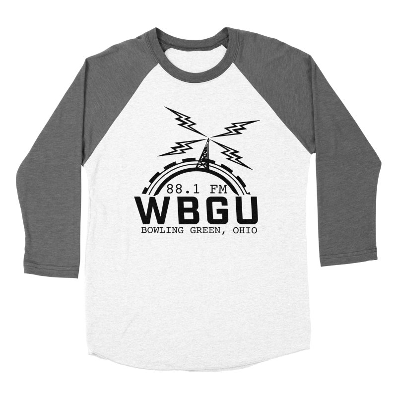 2018 Logo Men's Baseball Triblend Longsleeve T-Shirt by WBGU-FM's Shop