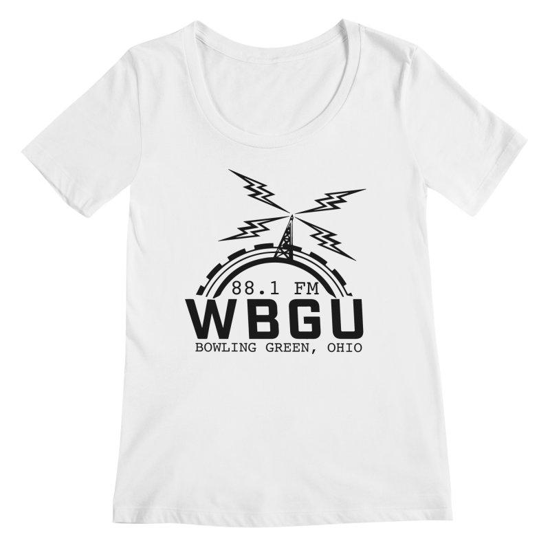 2018 Logo Women's Regular Scoop Neck by WBGU-FM's Shop