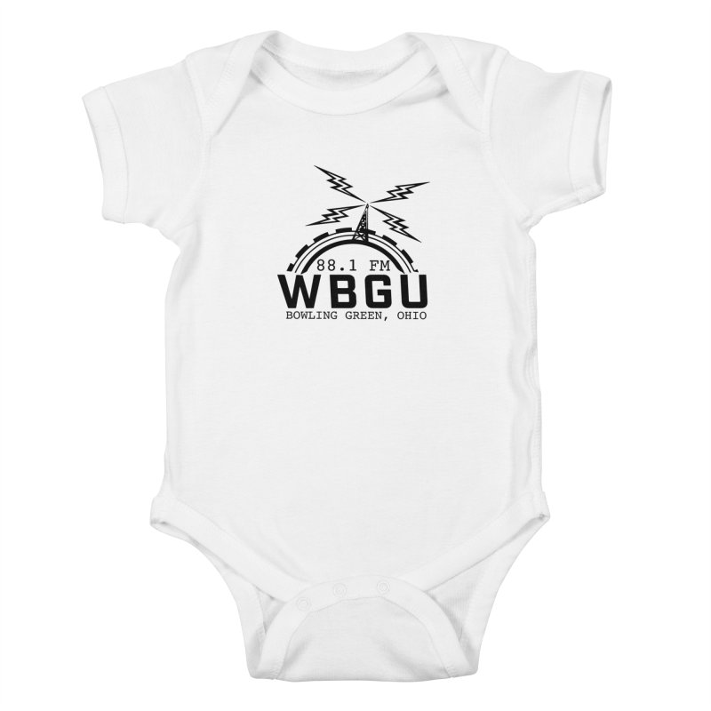 2018 Logo Kids Baby Bodysuit by WBGU-FM's Shop