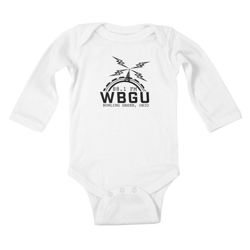 2018 Logo Kids Baby Longsleeve Bodysuit by WBGU-FM's Shop