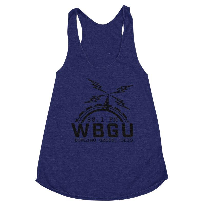 2018 Logo Women's Racerback Triblend Tank by WBGU-FM's Shop