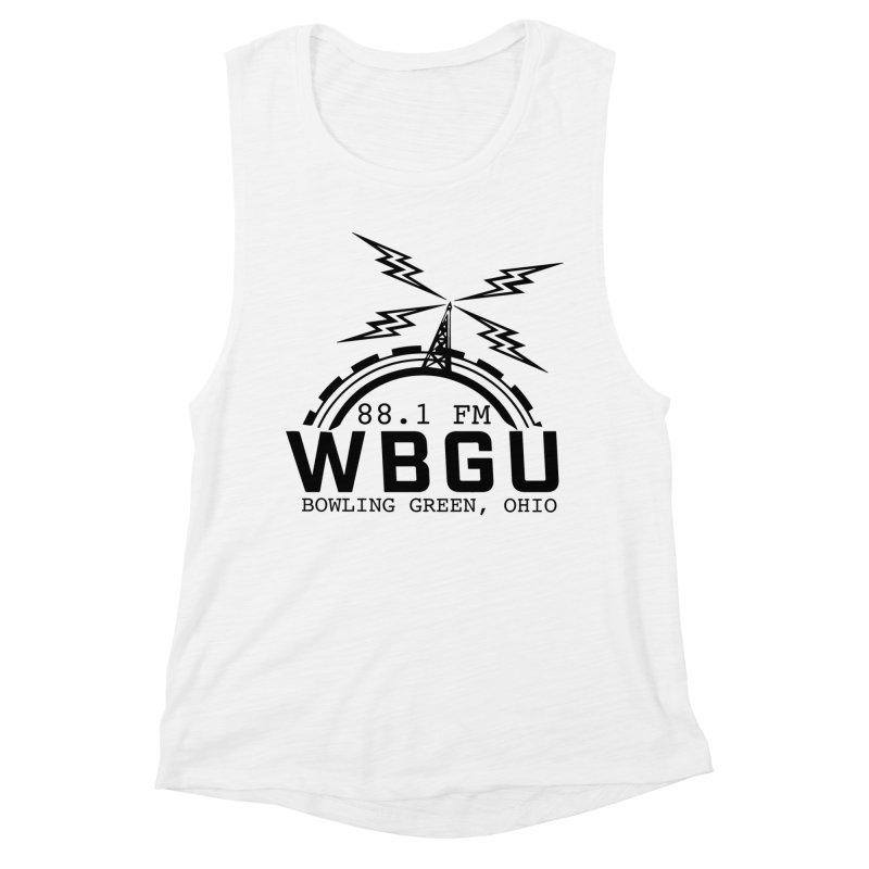 2018 Logo Women's Muscle Tank by WBGU-FM's Shop