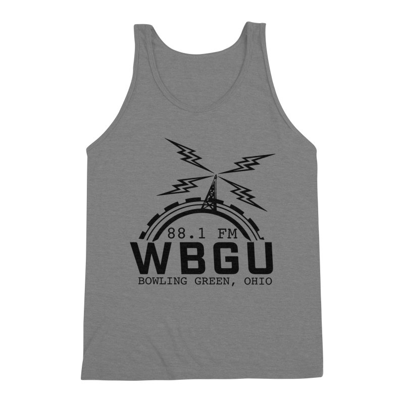 2018 Logo Men's Triblend Tank by WBGU-FM's Shop