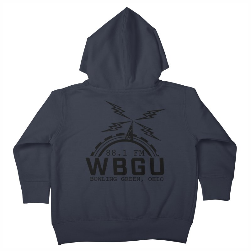 2018 Logo Kids Toddler Zip-Up Hoody by WBGU-FM's Shop