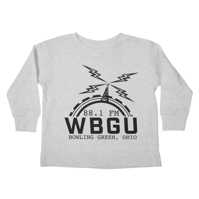 2018 Logo Kids Toddler Longsleeve T-Shirt by WBGU-FM's Shop