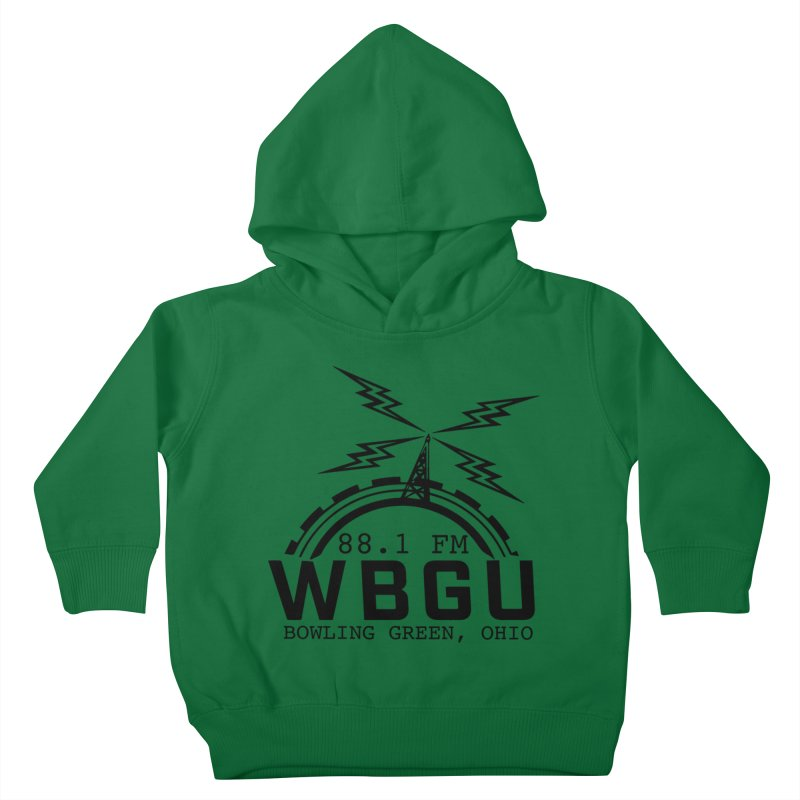 2018 Logo Kids Toddler Pullover Hoody by WBGU-FM's Shop