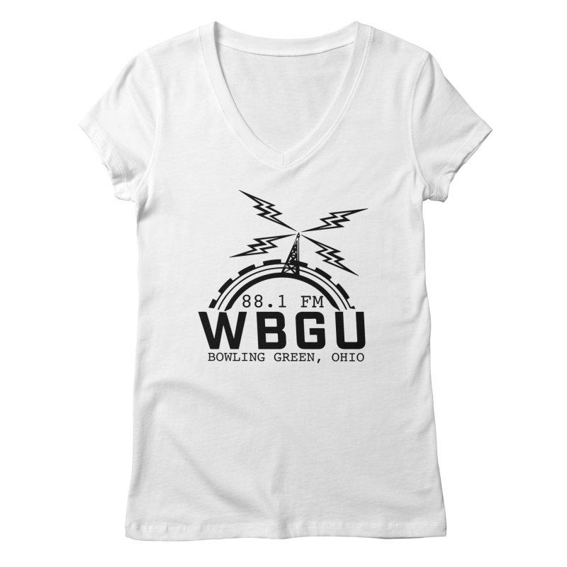 2018 Logo Women's Regular V-Neck by WBGU-FM's Shop