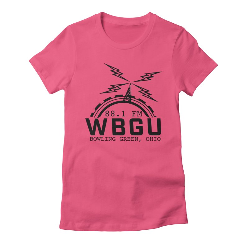 2018 Logo Women's Fitted T-Shirt by WBGU-FM's Shop