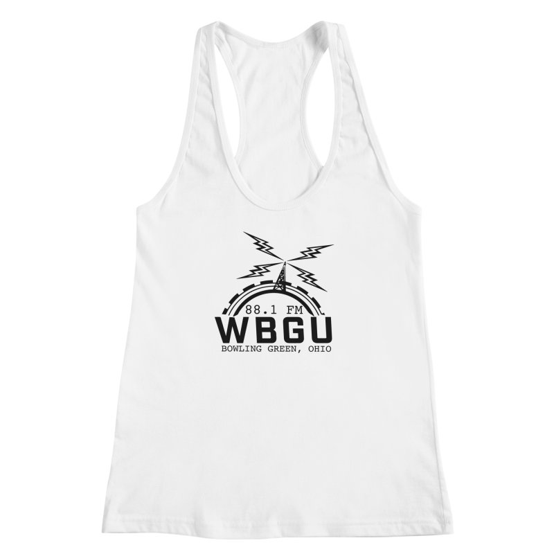 2018 Logo Women's Racerback Tank by WBGU-FM's Shop