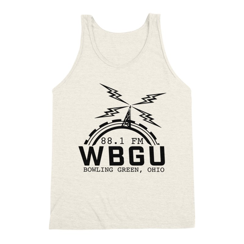 2018 Logo Men's Triblend Tank by WBGU-FM's Shop