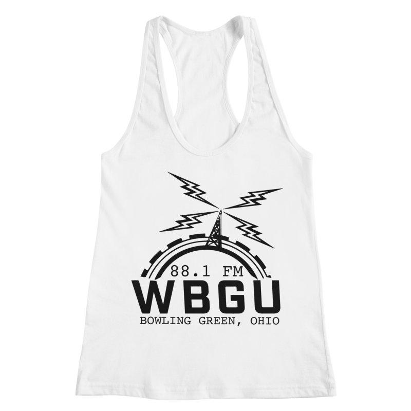 2018 Logo Women's Racerback Tank by WBGU-FM's Shop