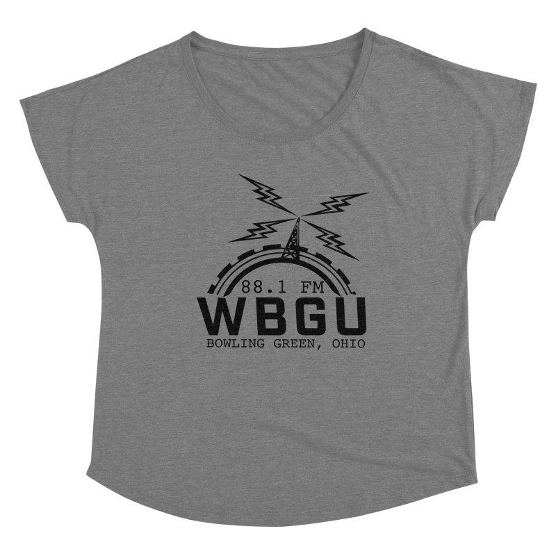 2018 Logo Women's Scoop Neck by WBGU-FM's Shop