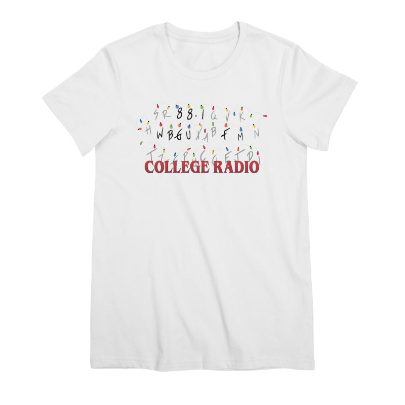 Stranger Radio Women's Premium T-Shirt by WBGU-FM's Shop