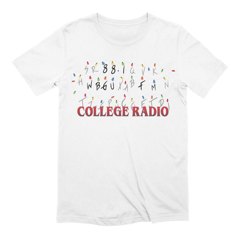 Stranger Radio Men's Extra Soft T-Shirt by WBGU-FM's Shop