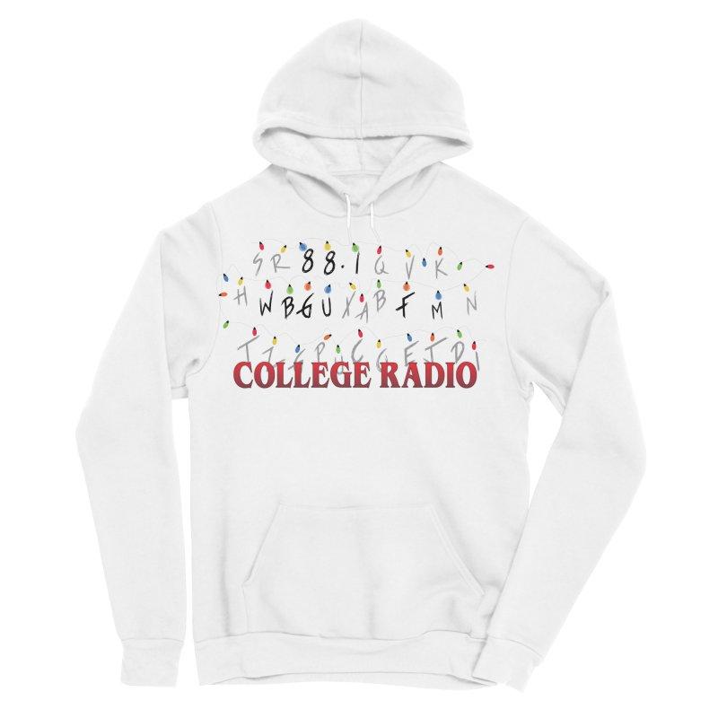 Stranger Radio Men's Sponge Fleece Pullover Hoody by WBGU-FM's Shop