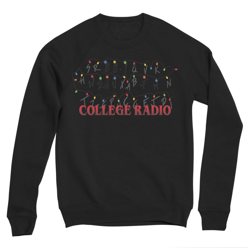 Stranger Radio Men's Sponge Fleece Sweatshirt by WBGU-FM's Shop