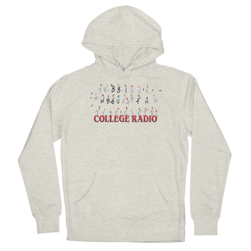 Stranger Radio Women's French Terry Pullover Hoody by WBGU-FM's Shop