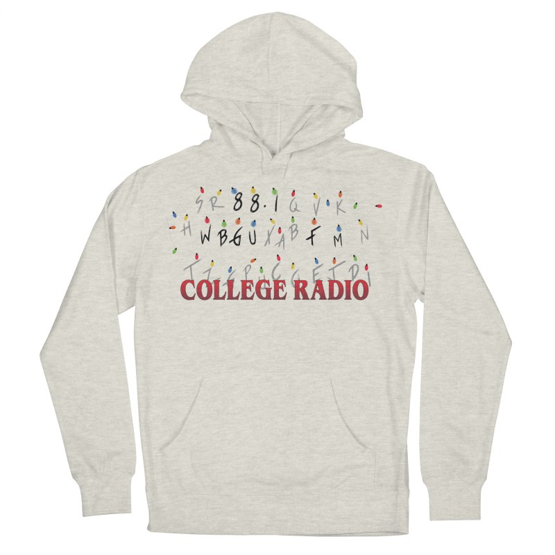 Stranger Radio Men's French Terry Pullover Hoody by WBGU-FM's Shop