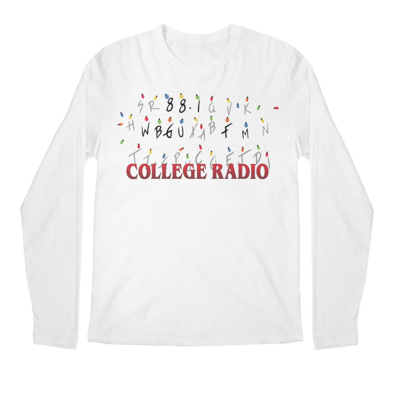 Stranger Radio Men's Regular Longsleeve T-Shirt by WBGU-FM's Shop