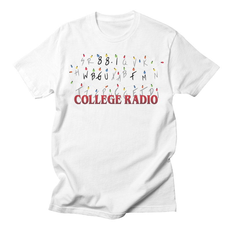 Stranger Radio Men's Regular T-Shirt by WBGU-FM's Shop