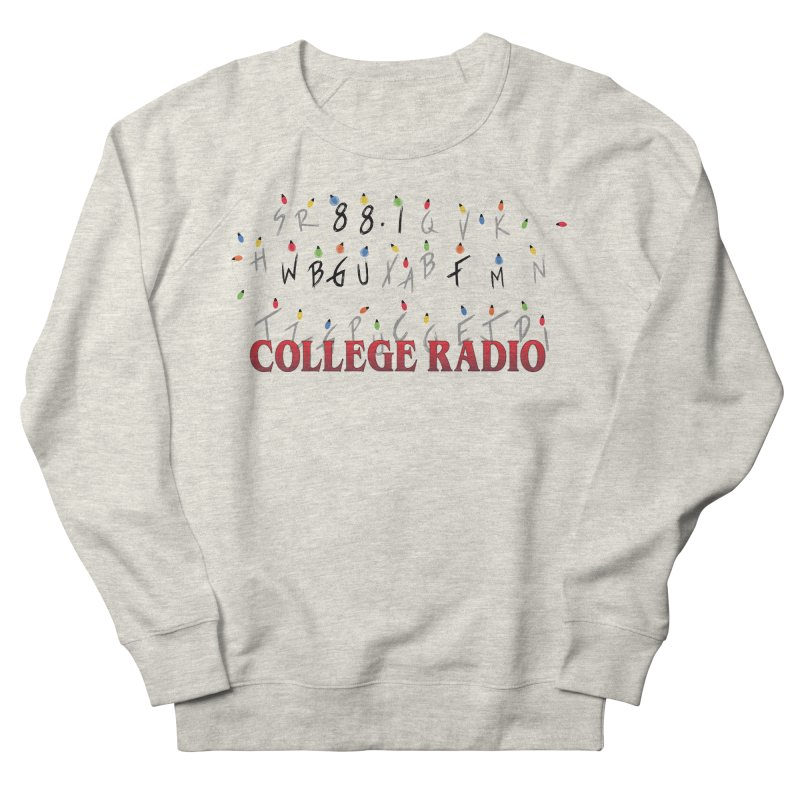 Stranger Radio Women's French Terry Sweatshirt by WBGU-FM's Shop