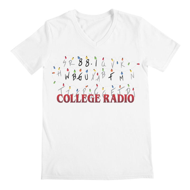 Stranger Radio Men's Regular V-Neck by WBGU-FM's Shop