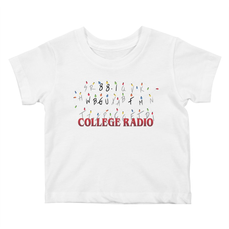 Stranger Radio Kids Baby T-Shirt by WBGU-FM's Shop