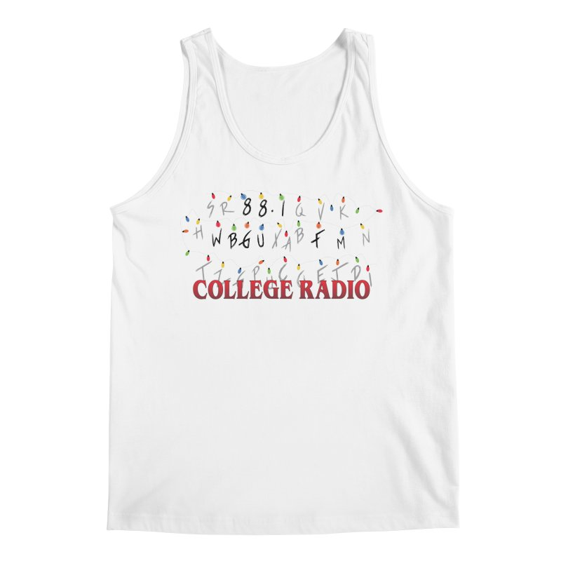 Stranger Radio Men's Regular Tank by WBGU-FM's Shop